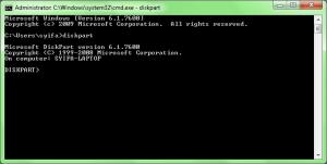 Install windows 7 menggunakan USB